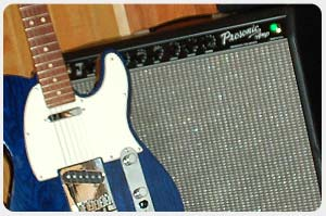 Deluxe Fender Telecaster with Fender Amp
