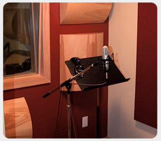New vocal booth